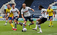 Preston North End's Daniel Johnson and Jayden Stockley attack the Birmingham City area<br /> <br /> Photographer Alex Dodd/CameraSport<br /> <br /> The EFL Sky Bet Championship - Leeds United v Barnsley - Thursday 16th July 2020 - Elland Road - Leeds<br /> <br /> World Copyright © 2020 CameraSport. All rights reserved. 43 Linden Ave. Countesthorpe. Leicester. England. LE8 5PG - Tel: +44 (0) 116 277 4147 - admin@camerasport.com - www.camerasport.com<br /> <br /> Photographer Alex Dodd/CameraSport<br /> <br /> The EFL Sky Bet Championship - Preston North End v Birmingham City - Saturday 18th July 2020 - Deepdale Stadium - Preston<br /> <br /> World Copyright © 2020 CameraSport. All rights reserved. 43 Linden Ave. Countesthorpe. Leicester. England. LE8 5PG - Tel: +44 (0) 116 277 4147 - admin@camerasport.com - www.camerasport.com