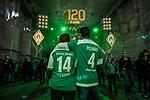 07.02.2019, Alte Werft, Bremen, GER, 1.FBL, 120 Jahre SV Werder Bremen - 120 Jahre Lauter - das Konzert<br /> <br /> im Bild<br /> die Halle füllt sich vor Konzertbeginn, Feature, Pizarro-Fans, <br /> <br /> Der Fussballverein SV Werder Bremen feiert sein 120-jähriges Bestehen. In der Alten Werft Bremen findet anläßlich des Jubiläums ein Konzert für Fans statt. <br /> <br /> Foto © nordphoto / Ewert