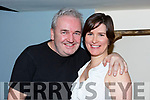 Frank Hartnett (Tralee Municipal District Engineer) celebrating a belated birthday in the Croi Restruarant on Saturday night last, due to Storm Emma. Franks birthday was on Thursday last, but due to work commitments during the weather alert, celebrations were put on hold. L-r, Frank Hartnett (Tralee Municipal District Engineer) and Siobhan Fitzpatrick (KCC)