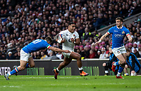 Manu Tuilagi of England during the Guinness Six Nations match between England and Italy at Twickenham Stadium on March 9th, 2019 in London, United Kingdom. Photo by Liam McAvoy.