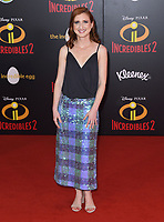 05 June 2018 - Hollywood, California - Marieve Herington. Disney Pixar's &quot;Incredibles 2&quot; Los Angeles Premiere held at El Capitan Theatre. <br /> CAP/ADM/BT<br /> &copy;BT/ADM/Capital Pictures