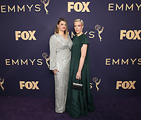 LOS ANGELES - SEPTEMBER 22: Leslye Headland (L) and Rebecca Henderson attend the 71st Primetime Emmy Awards at the Microsoft Theatre on September 22, 2019 in Los Angeles, California. (Photo by Brian To/Fox/PictureGroup)