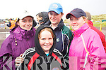 Amie Griffin, Tara O'Donnell, Claire O'Sullivan and Ciara Holmes, Glenbeigh,  at the Glenbeigh Races on Saturday afternoon.   Copyright Kerry's Eye 2008