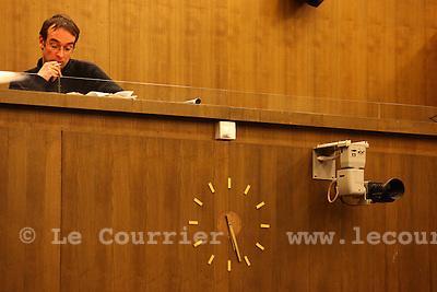 Genève, le 10.12.2009.La constituante, contituante..J.-P. Di Silvestro / Le Courrier