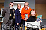 Maeve McGrath with Rev Simon lumby, Sean Mutchinock and Michael Gleeson at the launch of the Kerry Film Festival in Scotts Hotel on friday night the festival will run from the 19th-22nd October