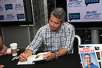 Bravo's Andy Cohen signs copies of his recently released book, Most Talkative, Stories from the Front Lines of Pop Culture at new NBC Experience Store in  New York City. &copy;&nbsp;Diego Corredor/MediaPunch Inc. *NORTEPHOTO*<br />
