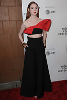 www.acepixs.com<br /> April 26, 2017  New York City<br /> <br /> Karen Gillan arriving to the World Premiere of 'The Circle' at the 2017 Tribeca Film Festival on April 26, 2017 in New York City.<br /> <br /> Credit: Kristin Callahan/ACE Pictures<br /> <br /> <br /> Tel: 646 769 0430<br /> Email: info@acepixs.com