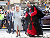 Queen Elizabeth II at Canongate Kirk Church Service
