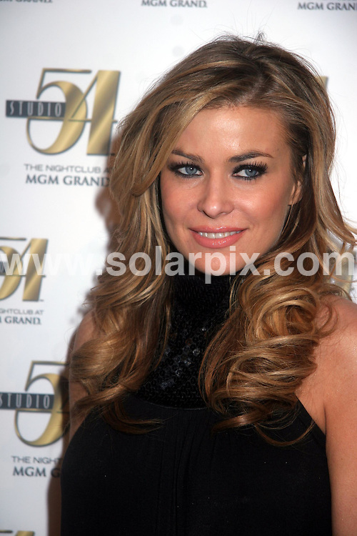 **ALL ROUND PICTURES FROM SOLARPIX.COM**.**SYNDICATION RIGHTS FOR UK, S.AFRICA, DUBAI, AUS**.Carmen Electra At Studio 54 in the MGM Hotel and Casino, Las Vegas, USA...JOB REF:     PHZ    DATE: 23.02.07.**MUST CREDIT SOLARPIX.COM OR DOUBLE FEE WILL BE CHARGED* *UNDER NO CIRCUMSTANCES IS THIS IMAGE TO BE REPRODUCED FOR ANY ONLINE EDITION WITHOUT PRIOR PERMISSION*