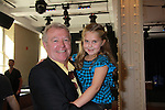 """One Life To Live's Stephanie Schmahl """"Bree Brennan"""" and Jerry verDorn (Grandfather and granddaughter) at the Daytime Stars and Strikes Charity Event to benefit the American Cancer Society at the Bowlmore Lanes, New York City, New York. (Photo by Sue Coflin/Max Photos)"""