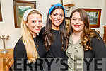 Karen Wallace (Racecourse Road), Michelle O'Leary (Tralee) and Ciara O'Mahoney (Tralee) enjoying the evening in Cassidys on Saturday.