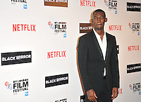 Malachi Kirby at the 60th BFI London Film Festival &quot;Black Mirror&quot; pre-reception red carpet photocall, BlueBird Cafe, Kking's Road, London, England, UK, on Thursday 06 October 2016.<br /> CAP/CAN<br /> &copy;CAN/Capital Pictures /MediaPunch ***NORTH AND SOUTH AMERICAS ONLY***