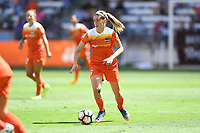 Houston, TX - Saturday May 13, 2017: Houston Dash midfielder Morgan Brian (6) during a regular season National Women's Soccer League (NWSL) match between the Houston Dash and Sky Blue FC at BBVA Compass Stadium. Sky Blue won the game 3-1.