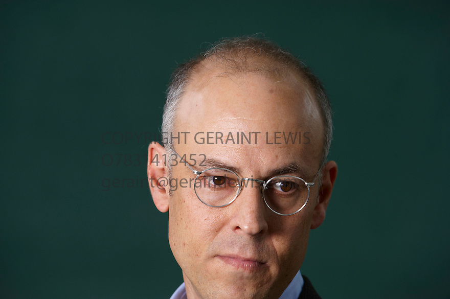 David Shenk ,Writer about Genetics at The Edinburgh International Book Festival 2010  Credit Geraint Lewis