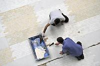 - Milano, Laboratorio scenografie del teatro Alla Scala presso l'ex insediamento industriale  Ansaldo<br /> <br /> - Milan, workplace for stage designs of La Scala theater in the former industrial site Ansaldo