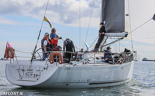 Vincent Farrell's First 40.7 Tsunami from the National Yacht Club
