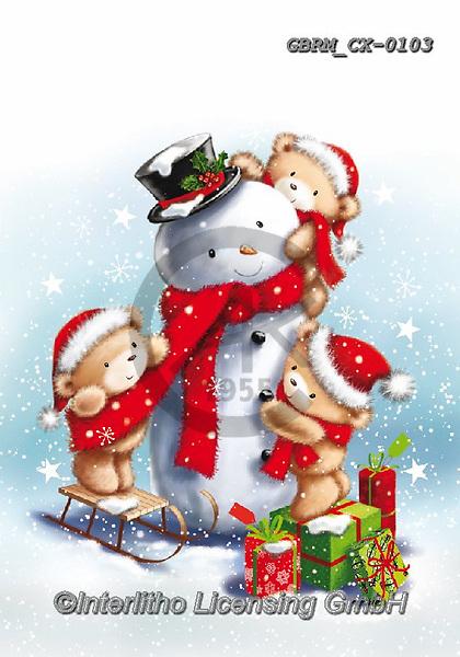Roger, CHRISTMAS ANIMALS, WEIHNACHTEN TIERE, NAVIDAD ANIMALES, paintings+++++,GBRMCX-0103,#xa#