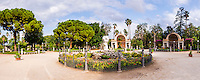 Panoramic photo of Villa Giulia public park, Palermo, Sicily, Italy, Europe. This is a panoramic photo of Villa Giulia public park, Palermo, Sicily, Italy, Europe.