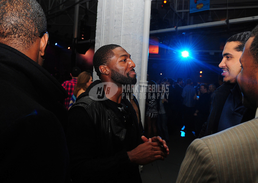 Feb 4, 2012; Indianapolis, IN, USA; Green Bay Packers wide receiver Greg Jennings in attendance at The Maxim Party at Indiana State Fairgrounds. Mandatory Credit: Mark J. Rebilas-