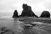 May 26, 2012:  Ruby Beach, Washington Beach.