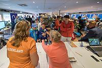Hilversum, Netherlands, August 12, 2016, National Junior Championships, NJK, Match control<br /> Photo: Tennisimages/Henk Koster