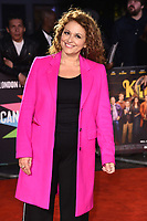 "LONDON, UK. October 08, 2019: Nadia Sawalha arriving for the ""Knives Out"" screening as part of the London Film Festival 2019 at the Odeon Leicester Square, London.<br /> Picture: Steve Vas/Featureflash"