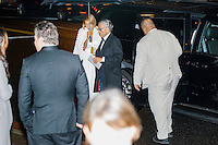 Reverend Al Sharpton arrives at the MSNBC After Party at the United States Institute of Peace in Washington, DC. The party followed the annual White House Correspondents Association Dinner on Saturday, April 30, 2016. The party continued until about 3 AM on Sunday, May 1, 2016.