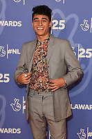 LONDON, UK. October 15, 2019: Karim Zeroual at the National Lottery Awards 2019, London.<br /> Picture: Steve Vas/Featureflash