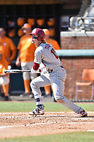 South Carolina Gamecocks center fielder LT Tolbert (11) swings at a pitch during a game against the Tennessee Volunteers at Lindsey Nelson Stadium on March 18, 2017 in Knoxville, Tennessee. The Gamecocks defeated Volunteers 6-5. (Tony Farlow/Four Seam Images)