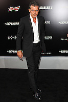 HOLLYWOOD, LOS ANGELES, CA, USA - AUGUST 11: Antonio Banderas arrives at the Los Angeles Premiere Of Lionsgate Films' 'The Expendables 3' held at the TCL Chinese Theatre on August 11, 2014 in Hollywood, Los Angeles, California, United States. (Photo by Celebrity Monitor)