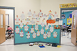November 15, 2011. Mooresville, NC.. In the hallway at East Mooresville Intermediate School student work is still posted outside classrooms even though many of the lessons are completed on school issued laptops and turned in electronically.. The Mooresville school system has become nationally known for being on the cutting edge of using technology as an educational tool. Starting in 3rd grade, each student is issued their own laptop that they will use in class and at home to further their learning.