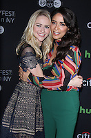NEW YORK, NY-October 17:Johanna Braddy,Yasmine al Massri, at PaleyFest New York presents Quantico at the Paley Center for Media in New York.October 17, 2016. Credit:RW/MediaPunch