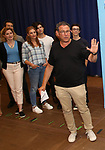 Michael Greif attends the National Tour Photo Call for 'Dear Evan Hansen' on September 6, 2018 at the New 42nd Street Studios in New York City.