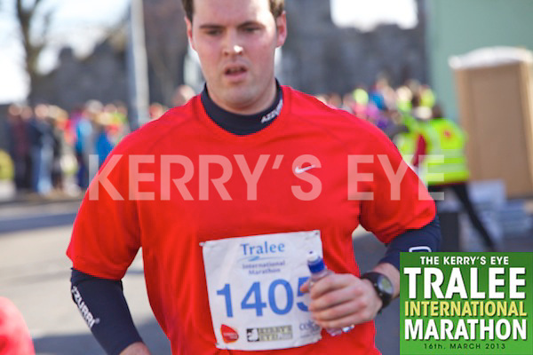 1405 Padraig Martin  who took part in the Kerry's Eye, Tralee International Marathon on Saturday March 16th 2013.