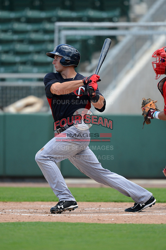 GCL Twins outfielder Ryan Tufts (39) during a game against the GCL Red Sox on July 19, 2013 at JetBlue Park at Fenway South in Fort Myers, Florida.  GCL Red Sox defeated the GCL Twins 4-2.  (Mike Janes/Four Seam Images)