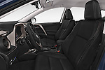 Front seat view of a 2015 Toyota RAVA4 Lounge 5 Door SUV front seat car photos