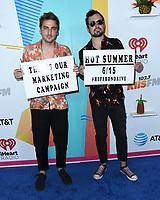 02 June 2018 - Beverly Hills, California - Heffron Drive. 2018 iHeartRadio KIIS FM Wango Tango by At&amp;t held at Banc of Califronia Stadium. <br /> CAP/ADM/BT<br /> &copy;BT/ADM/Capital Pictures