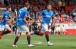 05.08.18 Aberdeen v Rangers: James Tavernier celebrates his goal