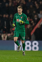 Bournemouth's Aaron Ramsdale <br /> <br /> Photographer David Horton/CameraSport<br /> <br /> The Premier League - Bournemouth v Wolverhampton Wanderers - Saturday 23rd November 2019 - Vitality Stadium - Bournemouth<br /> <br /> World Copyright © 2019 CameraSport. All rights reserved. 43 Linden Ave. Countesthorpe. Leicester. England. LE8 5PG - Tel: +44 (0) 116 277 4147 - admin@camerasport.com - www.camerasport.com