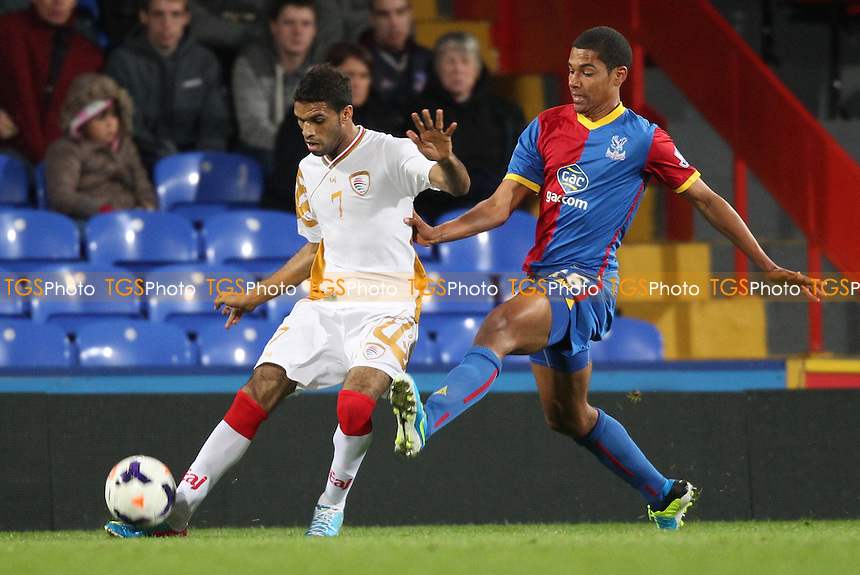 - Crystal Palace vs Oman - Friendly Football Match at Selhurst Park, London - 10/09/13 - MANDATORY CREDIT: Simon Roe/TGSPHOTO - Self billing applies where appropriate - 0845 094 6026 - contact@tgsphoto.co.uk - NO UNPAID USE