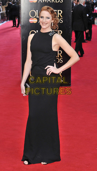 LONDON, ENGLAND - APRIL 13: Rosalie Craig attends the Olivier Awards 2014, Royal Opera House, Covent Garden, on Sunday April 13, 2014 in London, England, UK.<br /> CAP/CAN<br /> &copy;Can Nguyen/Capital Pictures