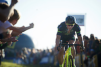 Sven Nys (BEL/Crelan-AAdrinks)<br /> <br /> elite men's race<br /> Koppenbergcross 2015