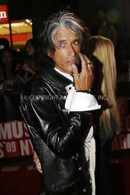 WWW.ACEPIXS.COM . . . . .  ....September 13 2009, New York City....Joe Perry of Aerosmith outside the 2009 MTV Video Music Awards at Radio City Music Hall on September 13 2009 in New York City.....Please byline: NANCY RIVERA- ACE PICTURES.... *** ***..Ace Pictures, Inc:  ..tel: (212) 243 8787 or (646) 769 0430..e-mail: info@acepixs.com..web: http://www.acepixs.com