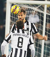 Ferdinando Llorente    in action during the Italian Serie A soccer match between   SS Lazio and FC Juventus   at Olimpico  stadium in Rome , November 22, 2014