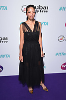 LONDON, UK. June 28, 2019: Hsieh Su-wei arriving for the WTA Summer Party 2019 at the Jumeirah Carlton Tower Hotel, London.<br /> Picture: Steve Vas/Featureflash