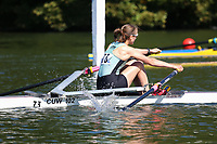 Race: 4  Event: Championship 1x<br /> Crew: 73  Club: Camb. Univ W (B)<br /> <br /> Henley Women's Regatta 2018<br /> Friday<br /> <br /> To purchase this photo, or to see pricing information for Prints and Downloads, click the blue 'Add to Cart' button at the top-right of the page.