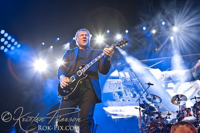 Rush perform at Mohegan Sun Arena May 9, 2013.