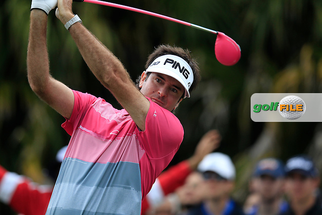 Bubba Watson (USA) during the final round of the WGC Cadillac Championship, Blue Monster, Trump National Doral, Doral, Florida, USA<br /> Picture: Fran Caffrey / Golffile