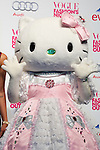 "Hello Kitty, September 06, 2014 : Tokyo, Japan - A man wears as Hello Kitty character poses for the cameras at the ""FASHION'S NIGHT OUT 2014"" by VOGUE Japan on September 06, 2014 in Tokyo, Japan. The annual event took place in 20 countries where stores stay open late, offer opportunities for customers to come close to models and celebrities alike. This event started to promote the fashion industry in Japan and is held in Tokyo on September 6 and Osaka on October 18. (Photo by Rodrigo Reyes Marin/AFLO)"