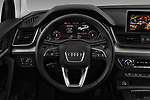 Car pictures of steering wheel view of a 2017 Audi Q5 Sport 5 Door SUV Steering Wheel